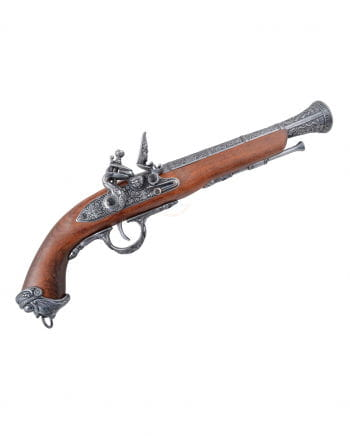 Piraten Steinschloßpistole Echtholz