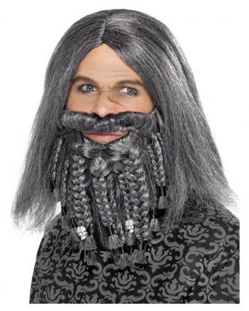 Pirates & Vikings wig with beard