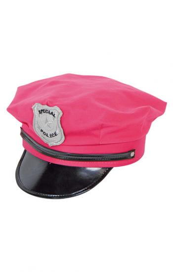 Polizei Mütze pink
