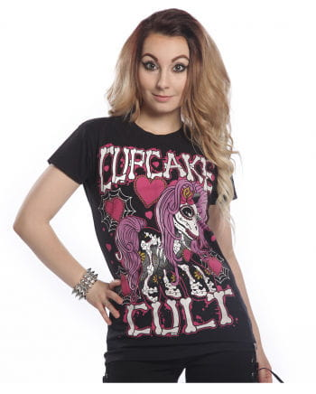 Cupcake Cult T-shirt skeleton Pony