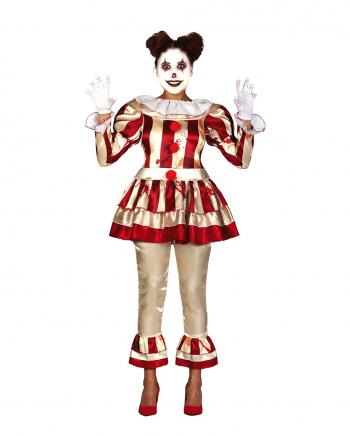 Pretty Killer Clown Damen Kostüm für Erwachsene