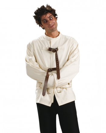 Psycho Kostüm Zwangsjacke für Erwachsene