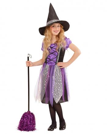 Purple Witch Kinderkostüm