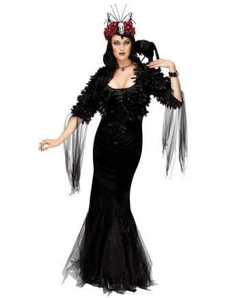 Raben Königin Deluxe Kostüm