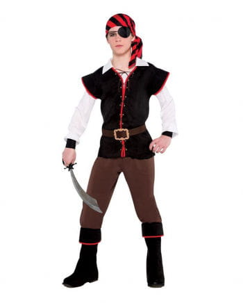 Rebel of the Sea pirate costume for teens  sc 1 st  Horror-Shop.com & Rebel of the Sea pirate costume for teens ? privateers | horror ...