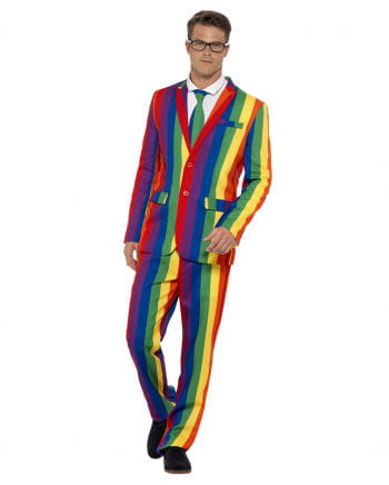 Rainbow suit with jacket