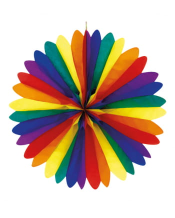 Regenbogen Dekofächer 50cm