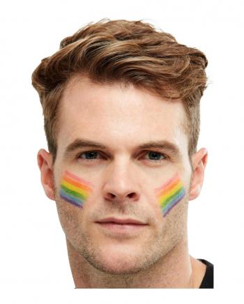 Regenbogen Flagge Schminkstift