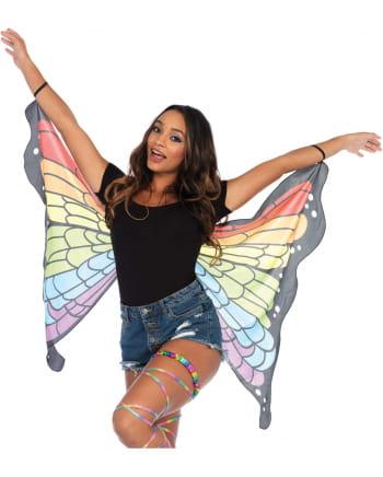 Regenbogen Schmetterlingsflügel