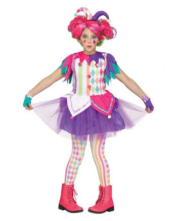 Colorful Harlequin Kids Costume