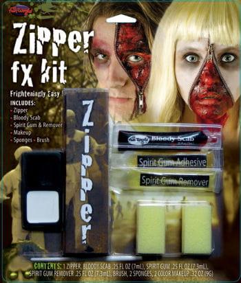 Zip wound