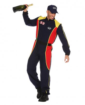 Rennfahrer Herren Kostüm Anzug