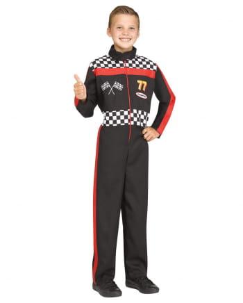 Rennfahrer Kinderkostüm