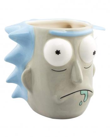Rick & Morty - Rick Sanchez 3D Tasse