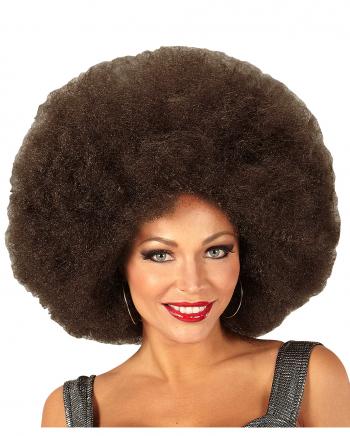 Riesige Afro Perücke Braun
