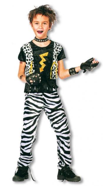 kids rocker costume kids punk costume child rocker fancy dress horror. Black Bedroom Furniture Sets. Home Design Ideas