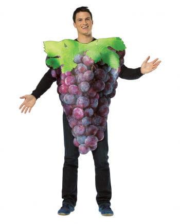 Wein-Trauben Kostüm blau