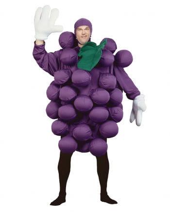 Wine grapes costume Deluxe purple