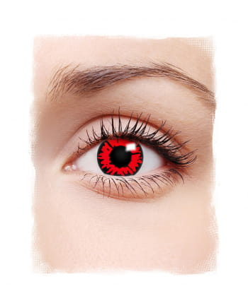 Red Werewolf 1-Daily Contact Lenses