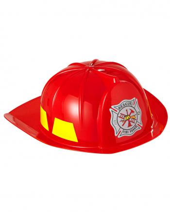 Plastic fireman`s helmet