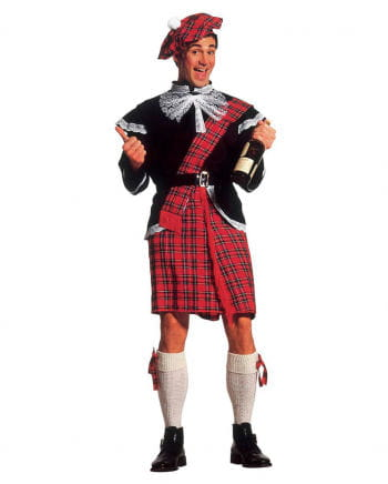 Scots costume with jacket and kilt