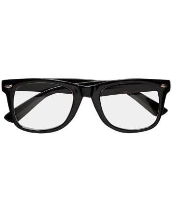 Black Nerd Glasses With Glasses