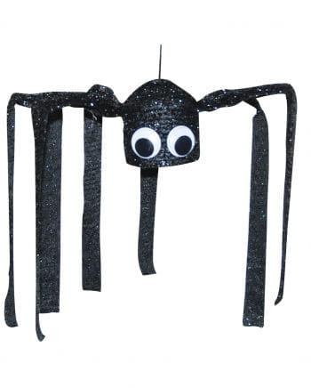 Schwarze zitternde Spinne