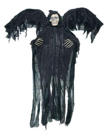 Schwarzer Reaper mit Flügeln für Halloween | Horror-Shop.com