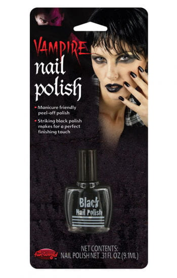 black nail polish witches fingernails halloween nail polish horror. Black Bedroom Furniture Sets. Home Design Ideas