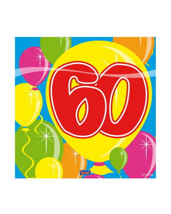 Napkins balloon 60