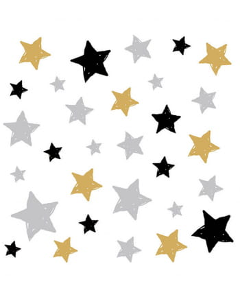 Servietten Sterne 20 St.