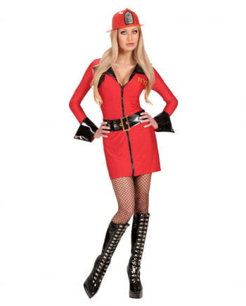 Sexy Firefighter Girl Costume 34/36