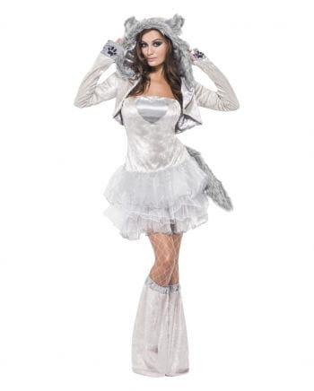 Sexy Wolf tutu dress silver