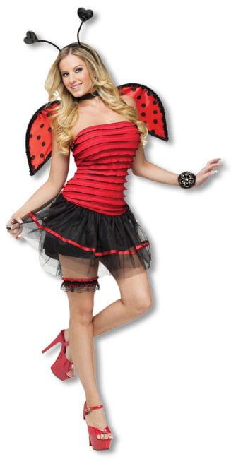 Sexy Marienkäfer Kostüm