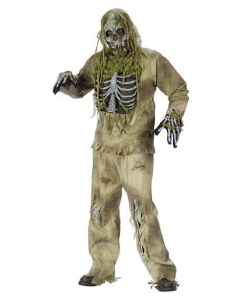 Skeleton Zombie 3D Deluxe Costume