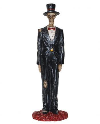 Skeleton groom figure 13 cm