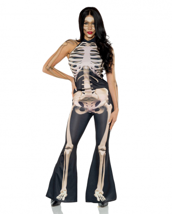 Skeleton Costume 2 Pieces