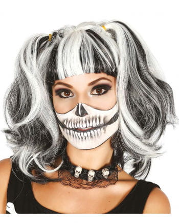 Skeleton Wig With Braids