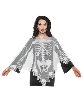 Skeleton Lace Poncho