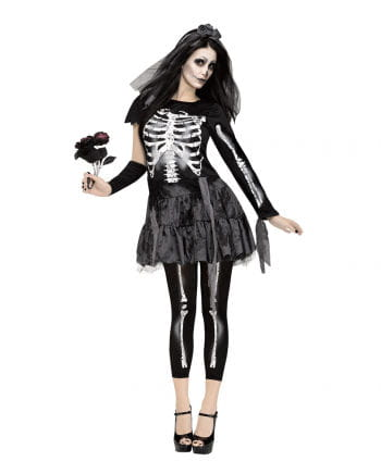 Skeleton Bride dress with veil for chilling performances at ...