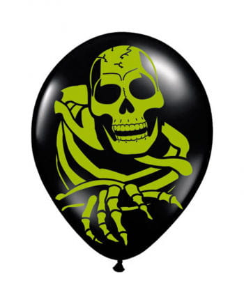 Skeleton Balloons 8 Pcs.