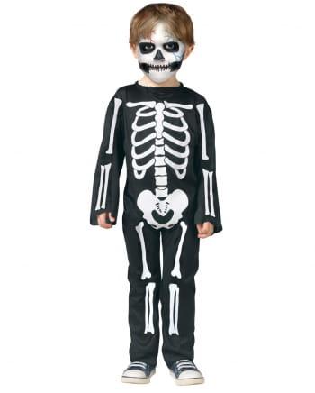 Skeleton Toddler Costume for Halloween | horror-shop.com