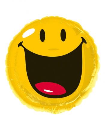 Smiley Folienballon