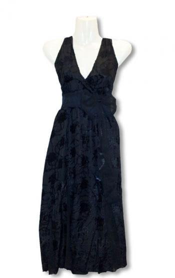 Black summer dress with Flock Print Rockabilly Dress Fancy Dress ...