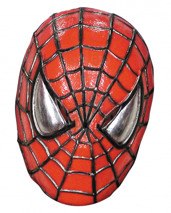 Spiderman Halbmaske