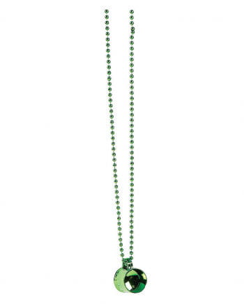 St. Patrick`s Day Necklace With Pendant
