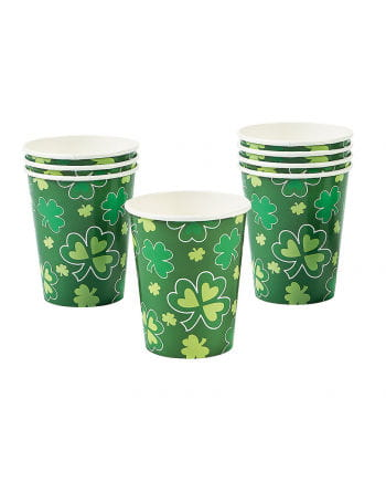 St. Patrick's Day Shamrock drinking cup
