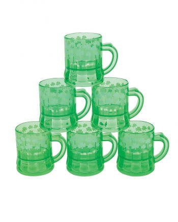 St. Patrick`s Day Shamrock Mini Jugs