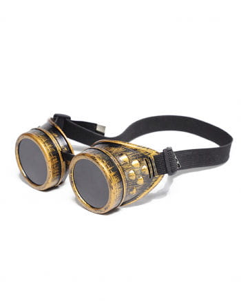 Steampunk Brille Messing