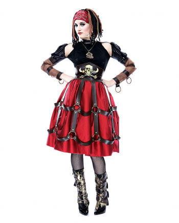 Steampunk pirate Maid Costume S